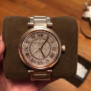 Michael Kors watch with extra links